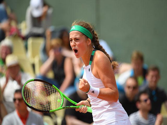 Thể thao - Ostapenko - Bacsinszky: Giằng co nghẹt thở, cảm xúc vỡ òa (BK Roland Garros)