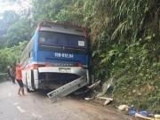 Tin tức trong ngày - Tai nạn 2 người tử vong ở Tam Đảo: Tài xế cố tình tông vào vách núi