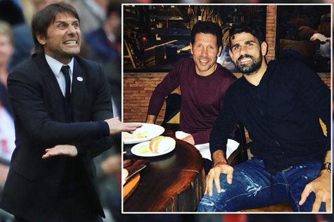 SỐC Chelsea: Conte đá Costa vì 1 bức ảnh, bán với giá bèo - 1