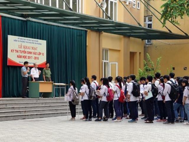 Cập nhật đề thi, gợi ý đáp án môn Văn vào lớp 10 ở Hà Nội