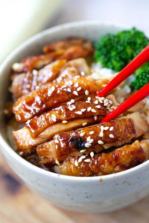 Thịt gà sốt teriyaki kiểu Nhật ngon quên sầu - 2