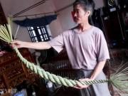 Tài chính - Bất động sản - Nghề lạ ở Ninh Bình: Ngồi nhà tết đuôi trâu, kiếm chục triệu/tháng