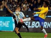Bóng đá - Brazil - Argentina: 4 pha chạm cột và 1 bàn thắng