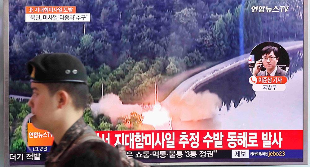 Triều Tiên: Tên lửa mới diệt được bất cứ tàu chiến nào - 1