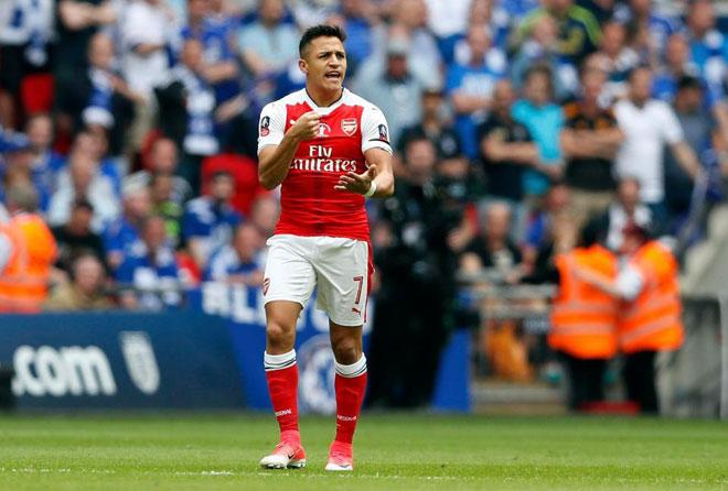 Alexis Sanchez chọn kình địch, Arsenal bất lực - 1