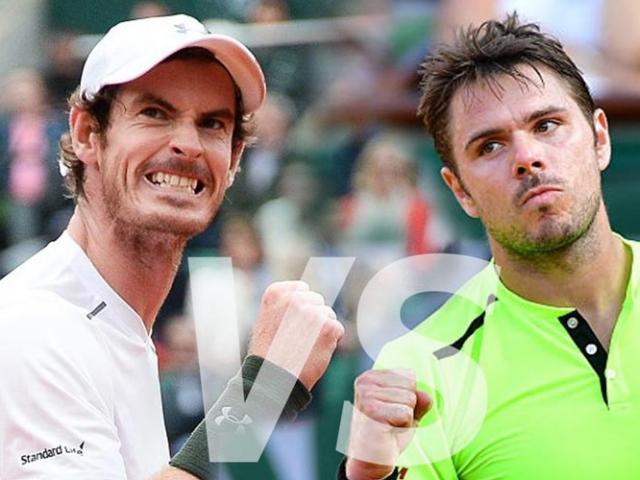 Roland Garros: Murray - Wawrinka đọ trí, đọ sức mãn nhãn