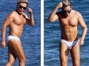 """Làm đẹp - """"Búp bê Ken"""" khoe thân hình 6 múi nhân tạo trên bãi biển"""