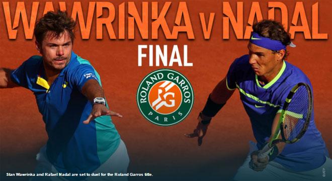 Chung kết Roland Garros, Nadal – Wawrinka: Giấc mơ Decima & kẻ ngáng đường - 1