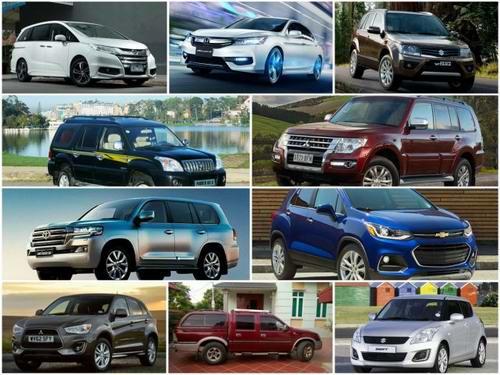 """10 mẫu ô tô """"ế"""" nhất Việt Nam tháng 5/2017 - 1"""