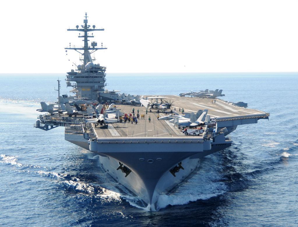 """Tàu sân bay Mỹ trên đường tới Syria """"diệt nốt"""" IS - 1"""