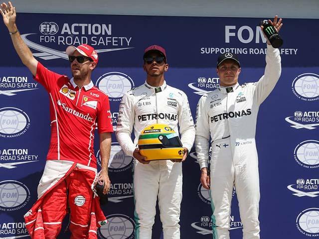 Đua xe F1, phân hạng Canadian GP: Hamilton cân bằng kỷ lục của Senna