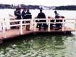 Hoảng hồn phát hiện xác chết trên hồ Xuân Hương