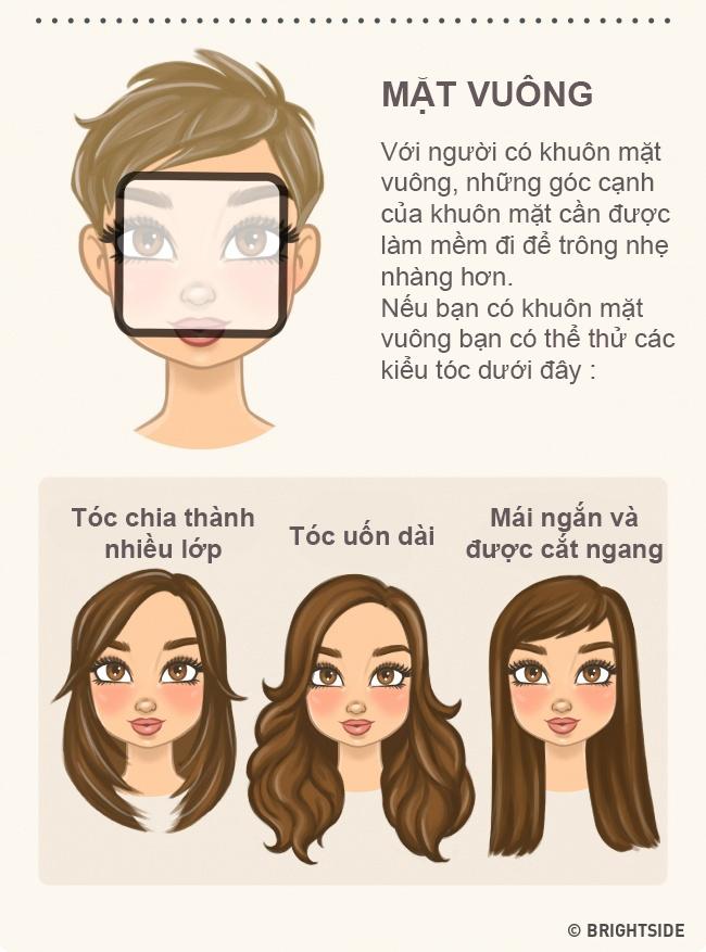 """Chọn kiểu tóc phù hợp với khuôn mặt thì """"vịt"""" cũng hóa """"thiên nga"""" - 6"""