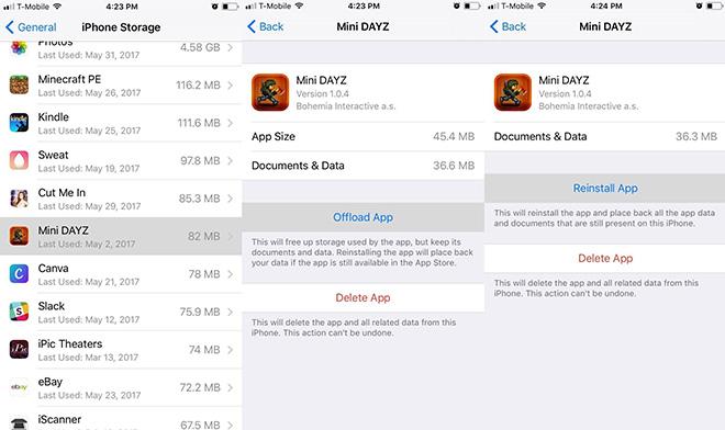 Mẹo đơn giản giúp giải phóng bộ nhớ cho iPhone chạy iOS 11 - 2