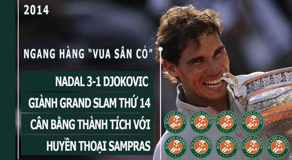 Nadal vô địch Roland Garros 2017: Hoàng đế bất tử - 11