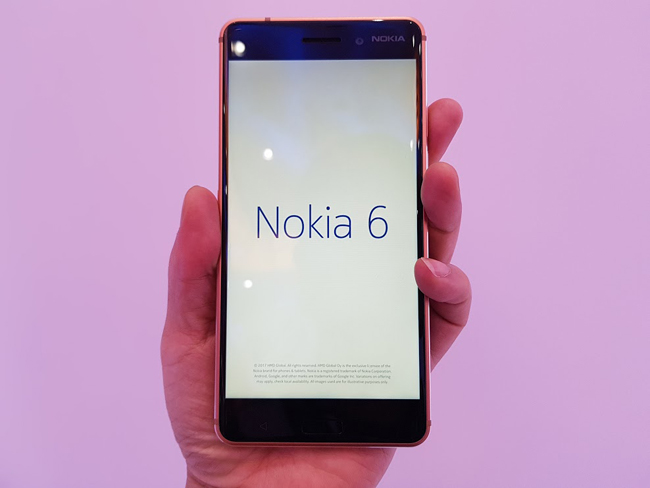Điện thoại thông minh Nokia 6 là phiên bản tốt nhất được HMD giới thiệu tại Việt Nam lần này. Máy có thiết kế chắc chắn, cấu hình ổn định và mức giá khá mềm.