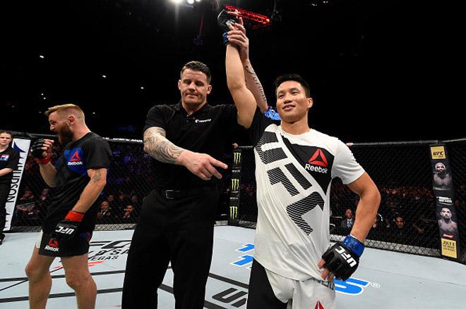MMA: Vì vợ, Ben Nguyễn hạ gục cao thủ UFC sau 49 giây - 1