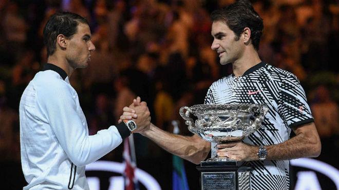 """Nadal """"ăn 10"""" Roland Garros, Federer run rẩy ở Wimbledon? - 1"""