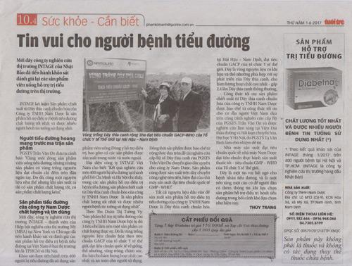 Giải mã viên uống hỗ trợ điều trị tiểu đường số 1 Việt Nam - 2