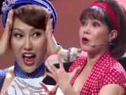 """Ca nhạc - MTV - Phi Thanh Vân ngã quỵ trên sân khấu khiến Việt Hương """"rụng tim"""""""