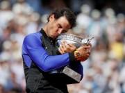 """Huyền thoại Nadal & 10 lần """"cắn cúp"""" Roland Garros"""