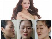 """Vỡ mộng khi ngắm """"mặt nguyên thủy"""" của loạt gái đẹp Hàn"""