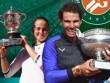 """Bảng xếp hạng tennis 12/6: Nadal vượt Djokovic, """"Sharapova mới"""" lên số 12"""