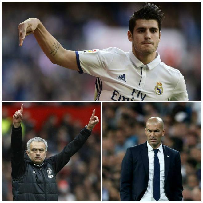 Real sắp loạn: Đòi tới MU, Morata gây sự với Zidane - 1