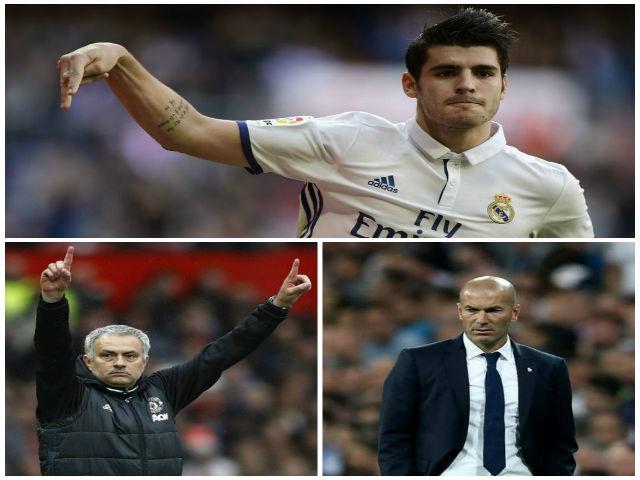 Real sắp loạn: Đòi tới MU, Morata gây sự với Zidane