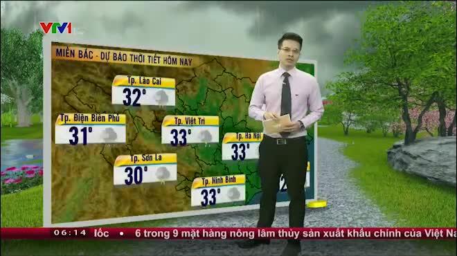 Dự báo thời tiết VTV 13.6: Thời tiết miền Bắc chuyển xấu