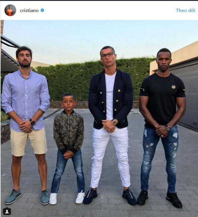 Mỹ nữ mang bầu, Ronaldo sắp có 4 con, háo hức dự Confederations Cup - 2