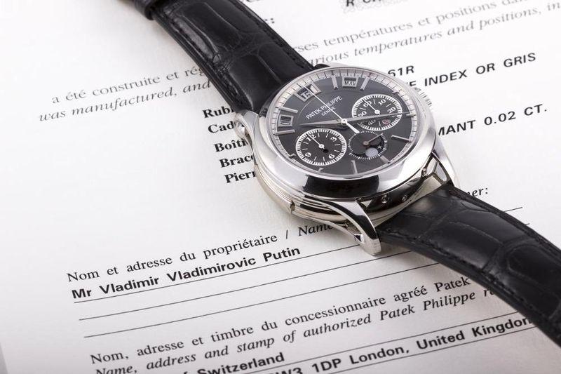 Đồng hồ của ông Putin được bán đấu giá 36 tỷ đồng? - 1