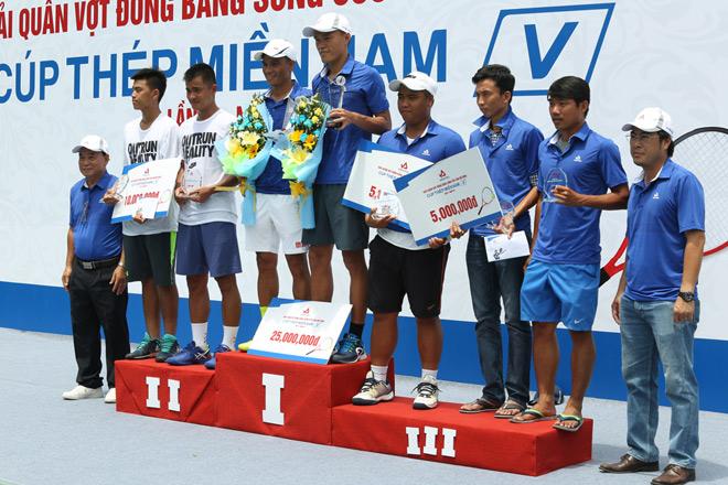 Giải quần vợt ĐBSCL mở rộng - cúp Thép Miền Nam /V/ lần III - năm 2017 - 3
