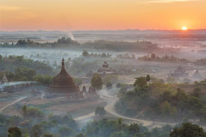 """""""Thành phố ma"""" của Myanmar sẵn sàng soán ngôi một kỳ quan thế giới - 1"""