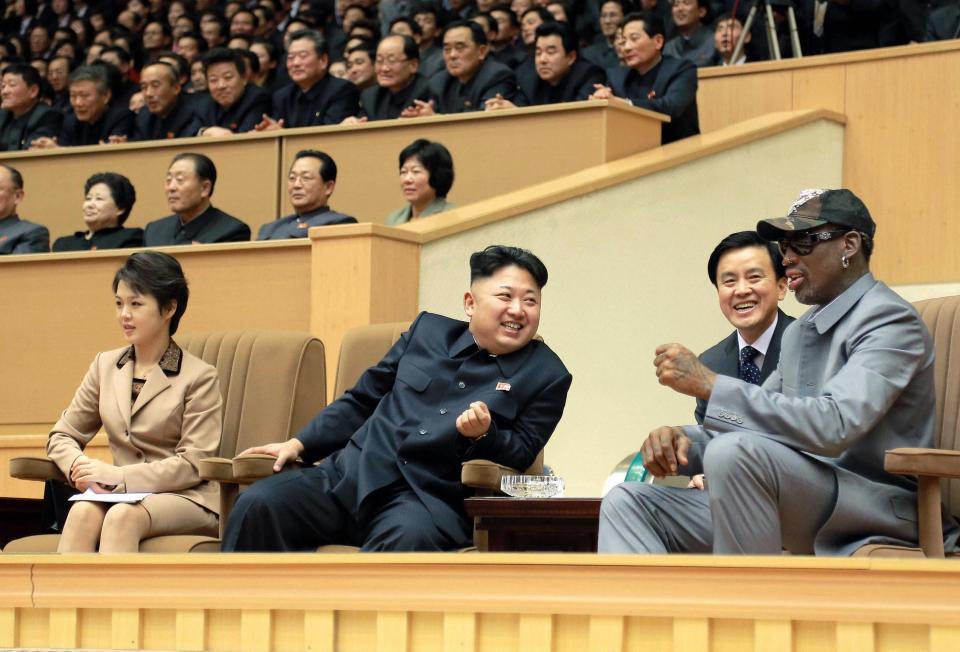 Bạn Mỹ duy nhất của Kim Jong-un bất ngờ trở lại Triều Tiên - 1