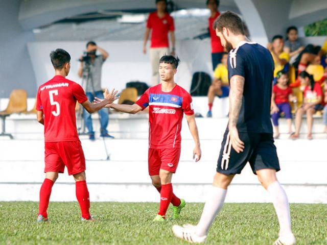 TRỰC TIẾP bóng đá Việt Nam - Jordan: Công Phượng đá chính