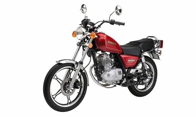'Huyền thoại' Suzuki GN125 trở lại Việt Nam với phiên bản 2017 - 1
