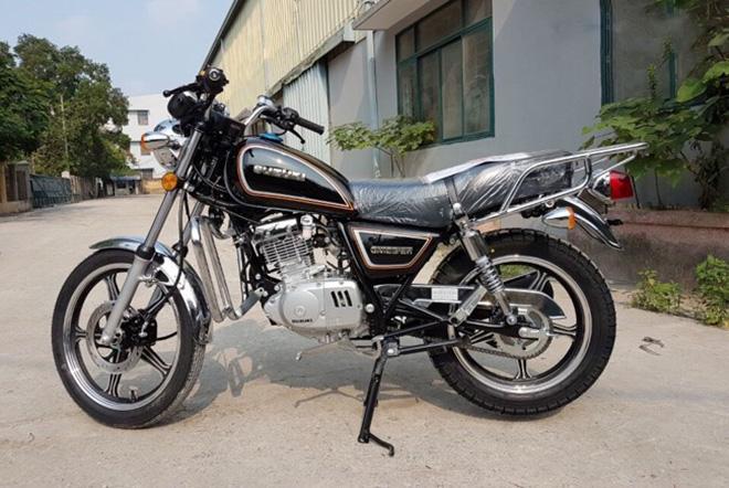 'Huyền thoại' Suzuki GN125 trở lại Việt Nam với phiên bản 2017 - 2