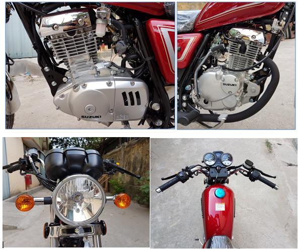 'Huyền thoại' Suzuki GN125 trở lại Việt Nam với phiên bản 2017 - 4