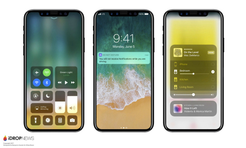 iPhone 8, iPhone 7s đồng loạt xuất hiện, màn hình phủ toàn mặt trước - 3