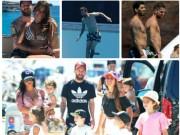"""Bóng đá - Messi """"bù khú"""" cùng Suarez - Fabregas, đội WAG khoe vẻ quyến rũ"""