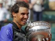Tin thể thao HOT 13/6: Nadal chắc suất dự ATP World Tour Finals