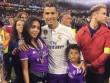 Mỹ nữ mang bầu, Ronaldo sắp có 4 con, háo hức dự Confederations Cup