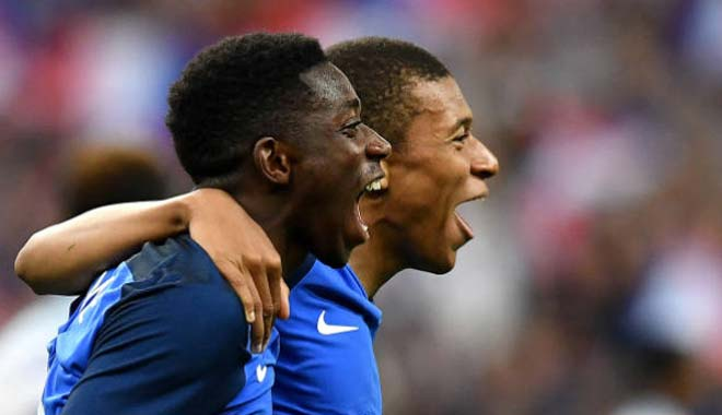 Pháp - Anh: Thẻ đỏ và cuộc rượt đuổi 5 bàn - 2
