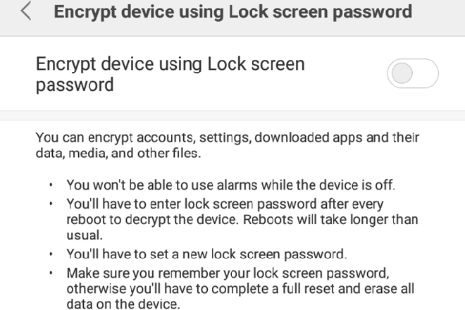 Kích hoạt chức năng mã hóa để bảo vệ điện thoại Android - 3