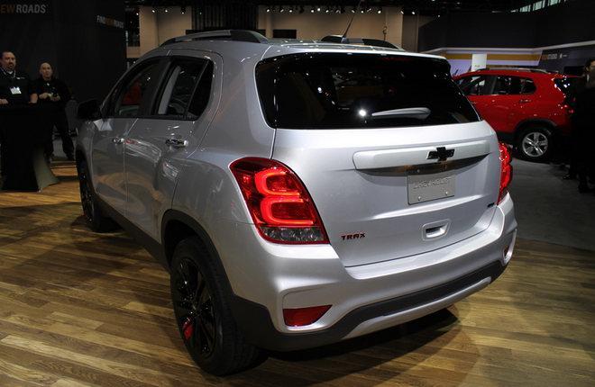 Sắp ra mắt Chevrolet Trax 2018 với nhiều cải tiến - 2