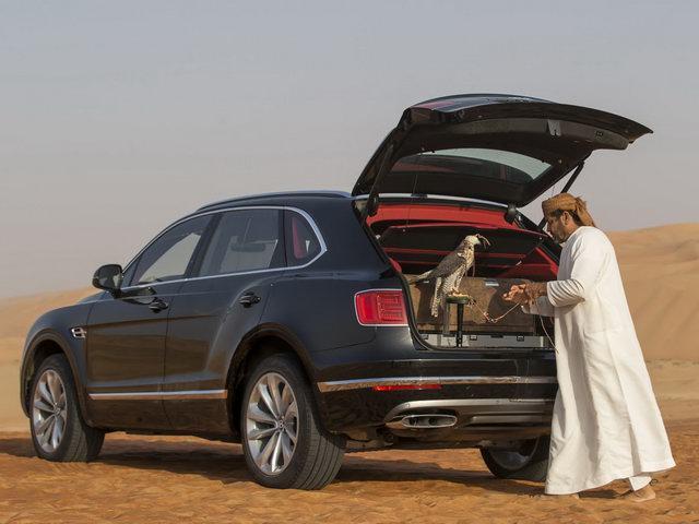 Bentley Bentayga Falconry: Cho nhà giàu sành chơi chim - 1