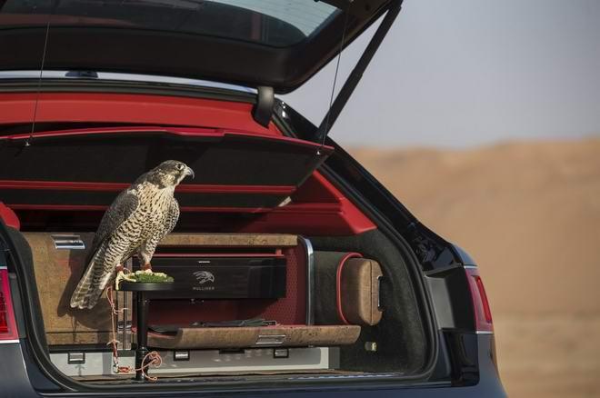 Bentley Bentayga Falconry: Cho nhà giàu sành chơi chim - 2
