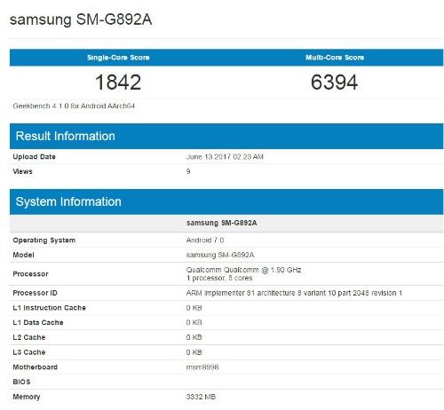 Lộ Galaxy S8 Active siêu bền, điểm hiệu năng cực cao - 1
