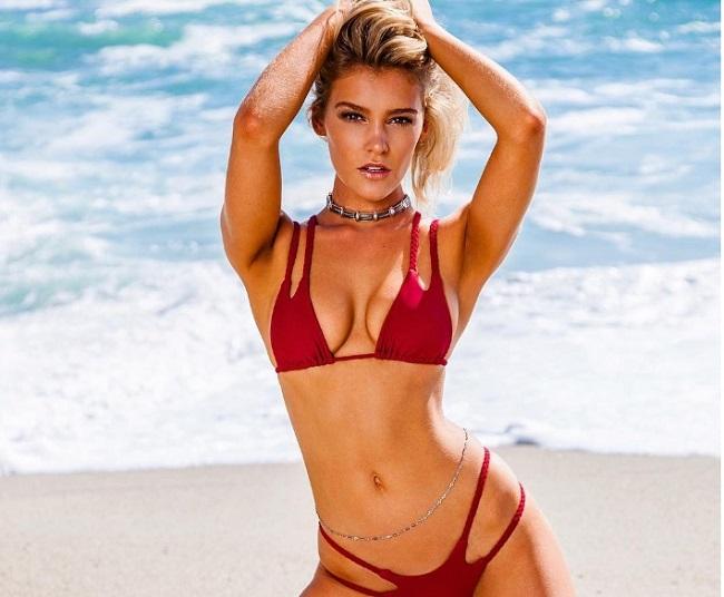 """Bồ đẹp của siêu sao Liverpool mê bikini chỉ đủ che """"chỗ hiểm"""" - 5"""